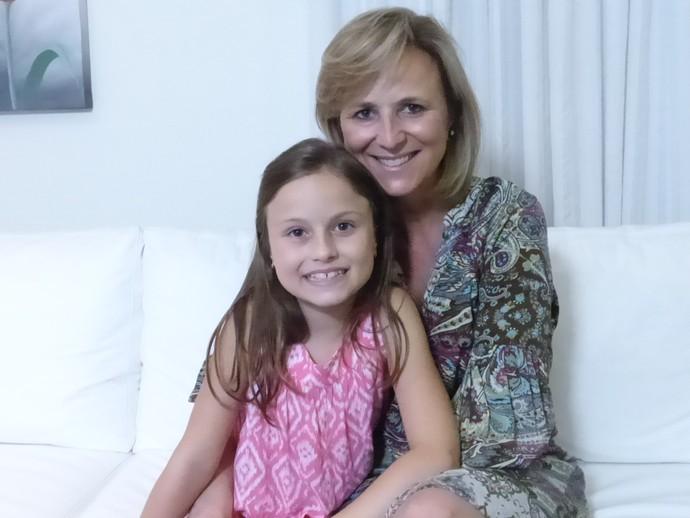 Rafa Gomes e mãe Márcia The Voice Kids (Foto: Divulgação/RPC)
