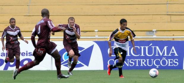 Fabinho Criciúma Atlético Ibirama (Foto: Fernando Ribeiro / Criciúma EC)