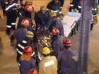 Desabamento em igreja deixa uma mulher morta em Diadema (SP)