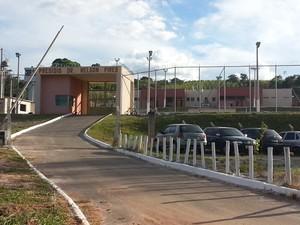Presídio Doutor Nelson Pires em Oliveira abriga hoje 269 detentos (Foto: Anna Lúcia Silva/G1)