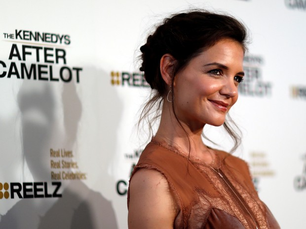Katie Holmes em première de série em Los Angeles, nos Estados Unidos (Foto: Mario Anzuoni/ Reuters)