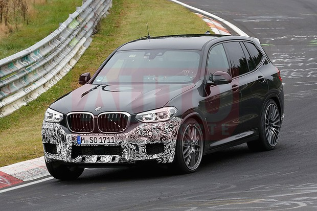 Novo BMW X3 em testes (Foto: Automedia)