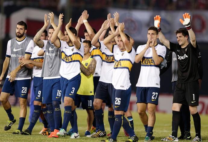 Comemoração Boca Juniors (Foto: Reuters)