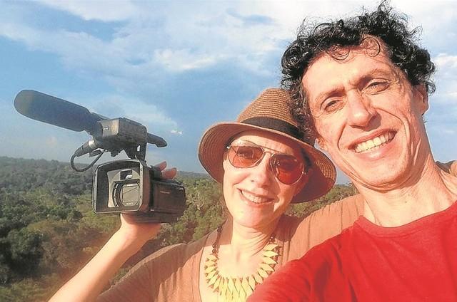 Christiane Torloni e  Miguel Przewodowski (Foto: Arquivo pessoal)