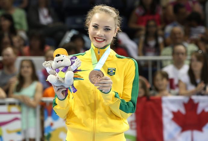 Angélica ginástica rítmica fita último dia Jogos Pan Americanos 2015 (Foto: Ricardo Bufolin/ CBG)
