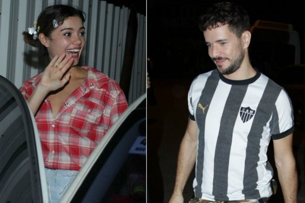 Sophie Charlotte e Daniel de Oliveira em festa no Rio (Foto: Alex Palarea e Marcello Sá Barreto/Ag News)