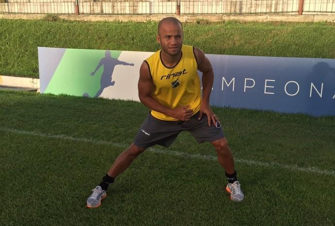 Anderson Pedra volante do ABC (Foto: Divulgação/ABC)