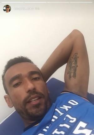 Eduardo, atacante do Flamengo-PI  (Foto: Reprodução/Instagram )