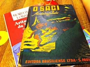 Livros Monteiro Lobato (Foto: Foto: Juliana Borba/ RBSTV)