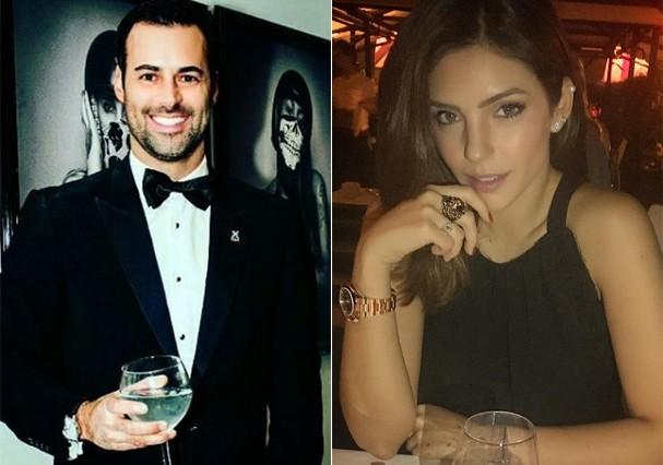 Eduardo Scarpa e Carol Celico (Foto: Reprodução/Instagram)