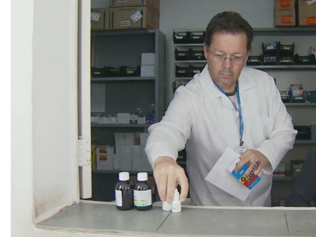 PAT oferece vaga para farmacêutico  (Foto: Reprodução/ EPTV)