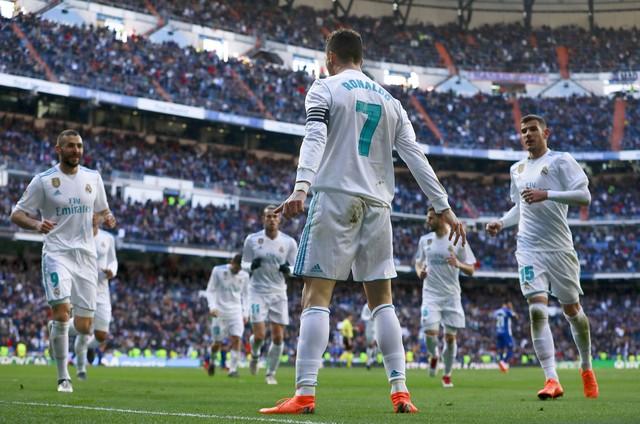 Real Madrid x Alavés - Campeonato Espanhol 2017-2018 - globoesporte.com 78d0966278a6c