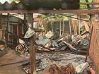 Homem fica ferido em incêndio em favela na zona oeste de Ribeirão Preto