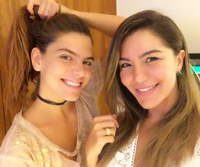 Mariana Goldfarb e Isabella Vorccaro (Foto: Reprodução/Instagram)