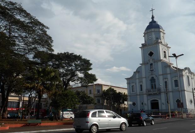 Praça da Matriz, um dos marcos do 'Centro Vivo', segundo o Ipplan (Foto: Suellen Fernandes/G1)