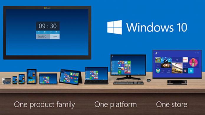 OneCore é o coração do Windows 10, presente em todas as versões do sistema operacional, independente do dispositivo (Foto: Divulgação/Microsoft)