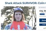 Surfista � atacado por tubar�o  no Hava� e tem perna amputada