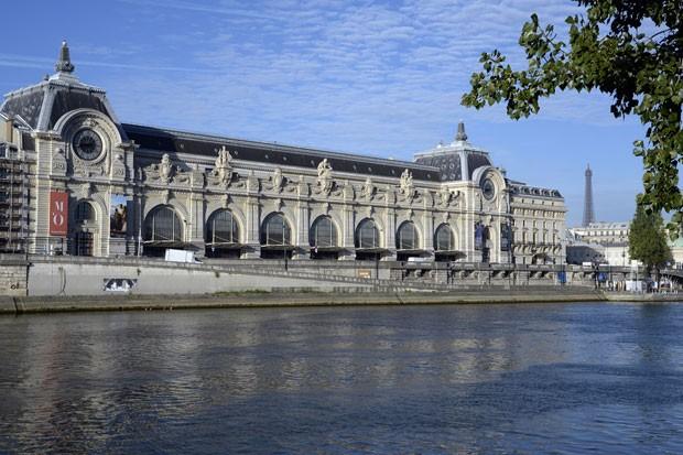 O Museu d'Orsay, em Paris (Foto: Bertrand Guay/AFP)
