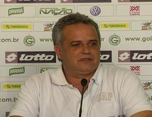 Marcelo Segurado, superintendente de futebol do Goiás (Foto: Reprodução/TV Anhanguera)