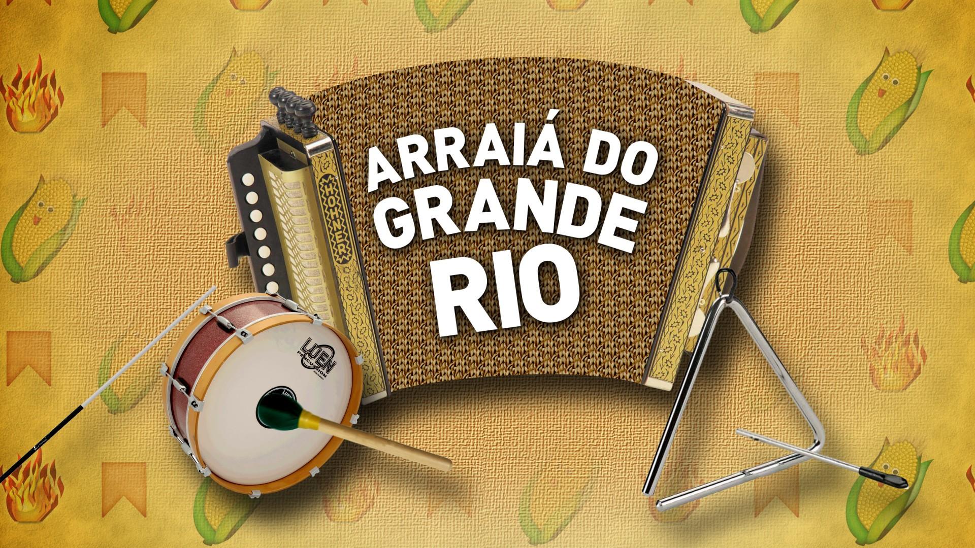 Arraiá do Grande Rio (Foto: Divulgação TV Grande Rio)