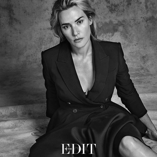 EGO - Kate Winslet fala sobre os 40 anos a revista: 'Não ... Kate Winslet Instagram