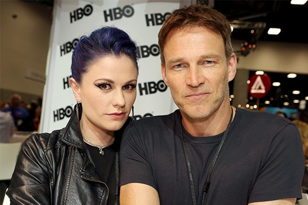 Anna Paquin e Stephen Moyer (Foto: Getty Images)