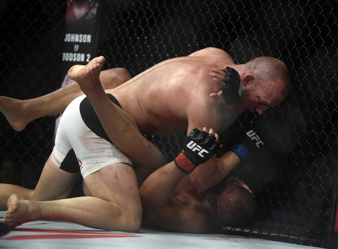 Patrick Cummins Rafael Feijão UFC Rio 7 UFC 190 MMA (Foto: André Durão)