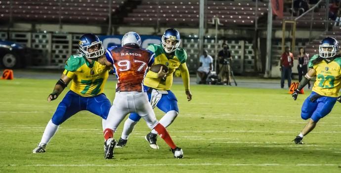 Brasil convoca 45 atletas para a Copa do Mundo de Futebol Americano f3071bbf93254