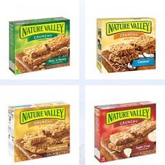 Produtos da linha Nature Valley, da General Mills (Foto: Divulgação)