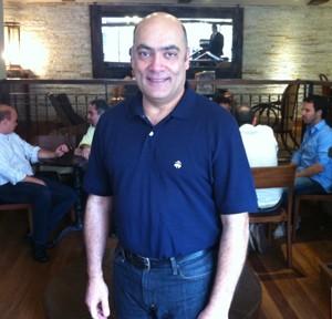 Samra, executivo do Evernote responsável pela América Latina, em passagem pelo Brasil (Foto: Amanda Demetrio/G1)