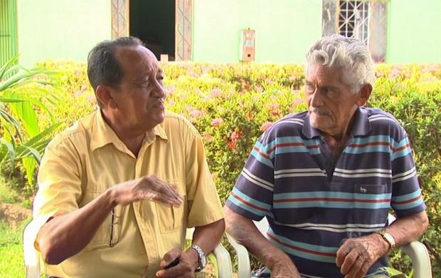 Pioneiros de Alto Alegre falam sobre o lugar (Foto: Roraima TV)