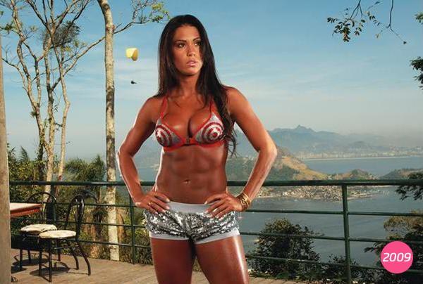 Gracyanne Barbosa em foto de 2009 (Foto: R2assessoria / Divulgação)