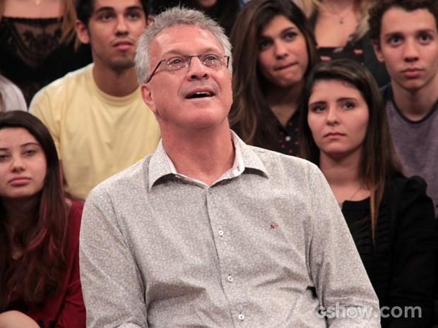 Pedro Bial participa do programa Altas Horas deste sábado (Foto: TV Globo/Altas Horas)