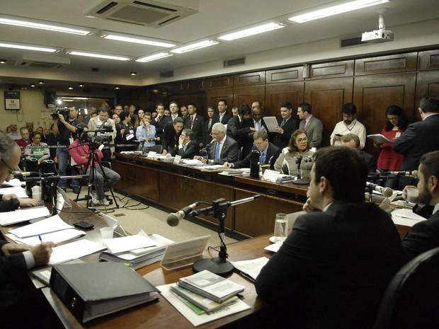 Assembleia Legislativa RS cassação Diogenes Basegio (Foto: Marcos Eifler/Agência ALRS)