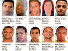 Governo do ES divulga lista dos 30 criminosos mais procurados