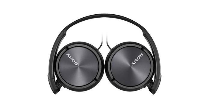 Fone de ouvido Sony MDR-ZX310AP é uma opção boa e econômica com design dobrável (Foto: Divulgação/Sony) (Foto: Fone de ouvido Sony MDR-ZX310AP é uma opção boa e econômica com design dobrável (Foto: Divulgação/Sony))