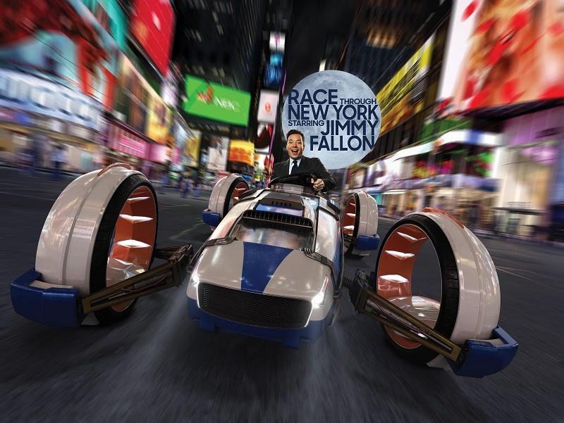 Jimmy Fallon na nova atração da Universal Orlando