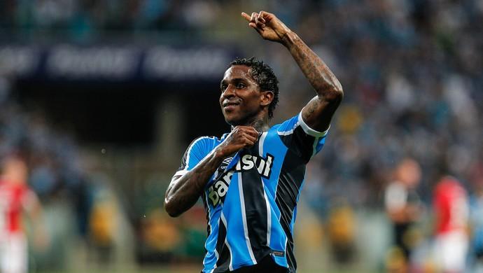 Bolaños Grêmio Inter Gre-Nal (Foto: Lucas Uebel/Divulgação Grêmio)