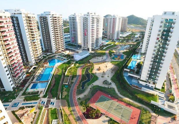 Vila dos Atletas, no Rio de Janeiro (Foto: Alexandre Vidal)