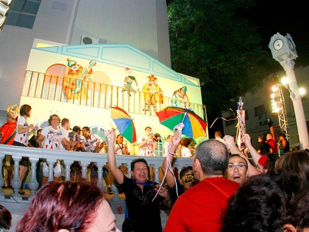 Carnaval Terraço do Relógio (Foto: Divulgação/Sesc)