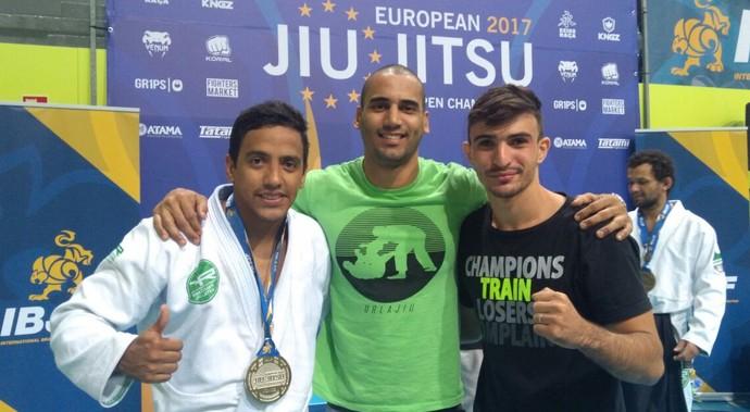 Adriano Victor conquista medalha de prata em Lisboa (Foto: Cleyton Ferreira/ Arquivo Pessoal)