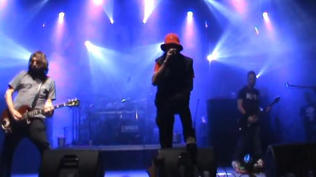 Último show de Champignon (Foto: Video/Reprodução)