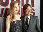 Nicole Kidman acompanha o marido em prêmio de música country