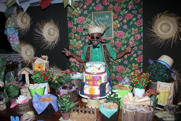 Famosos vão a festa julina na Casa do Nego do Borel (Foto: Rodrigo dos Anjos / Divulgação)