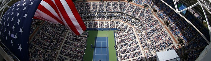 Arthur Ashe Stadium US Open Tênis (Foto: Getty Images)