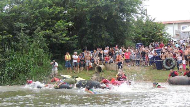 corrida de boias 2 (Foto: Rodrigo Mariano / Globoesporte.com)