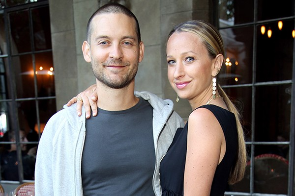 Tobey Maguire e Jennifer Meyer (Foto: Getty Images)
