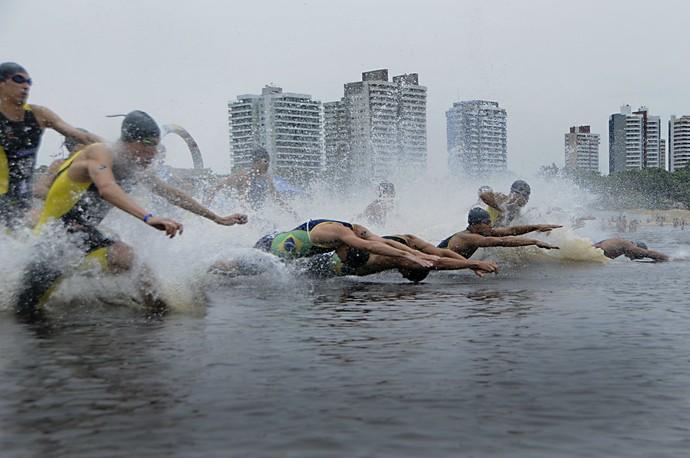 Ro Negro Challenge Maratona Aquática Manaus (Foto: Antônio Lima/Sejel)