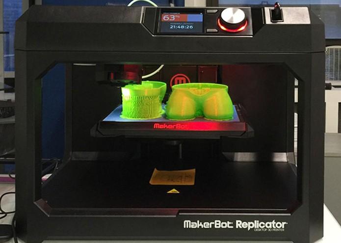 Molde é feito com impressora 3D (Foto: Divulgação/Kickstarter)