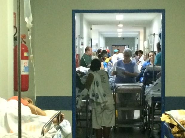 Maioria dos pacientes é de caso clínico (Foto: Carolina Sanches/G1)